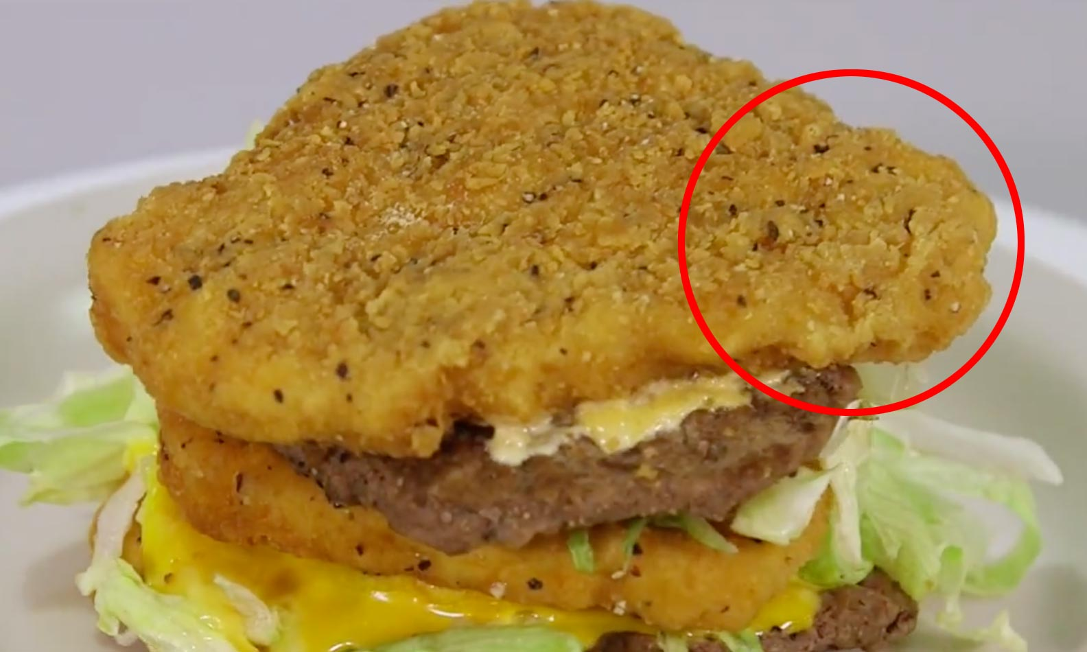 WATCH: You can order a BigMac and replace the buns with Chicken Fillet