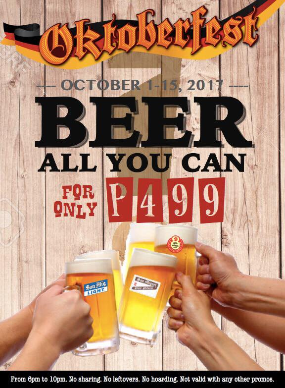 All You Can Drink for 499 at Empingao!