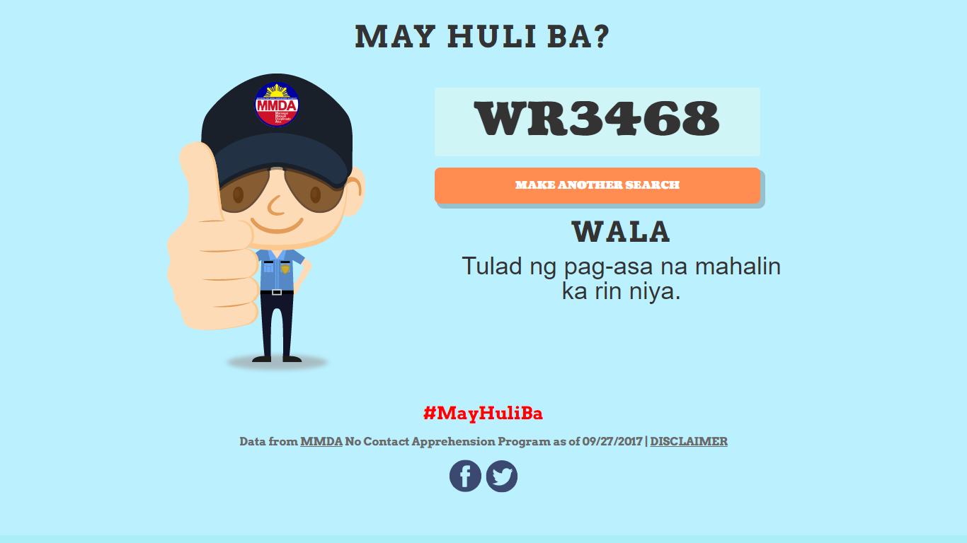 MMDA Launches May Huli Ba?