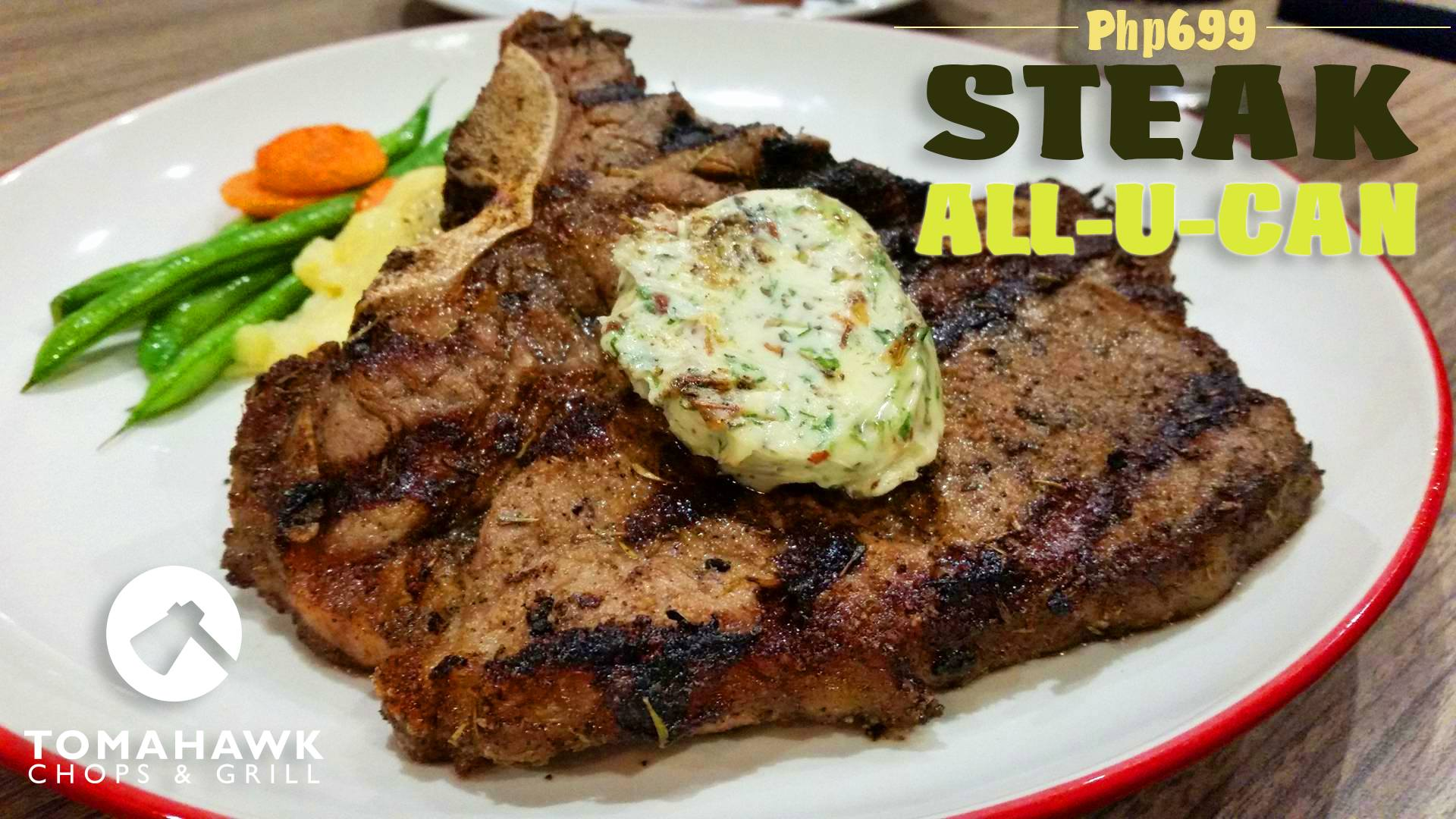 Steak All You Can At Tomahawk Chops and Grill