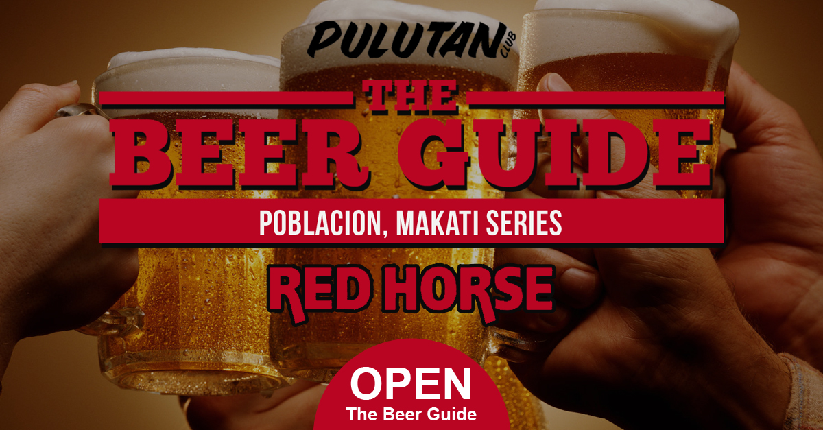 The Beer Guide: Poblacion, Makati Series – Red Horse Beer