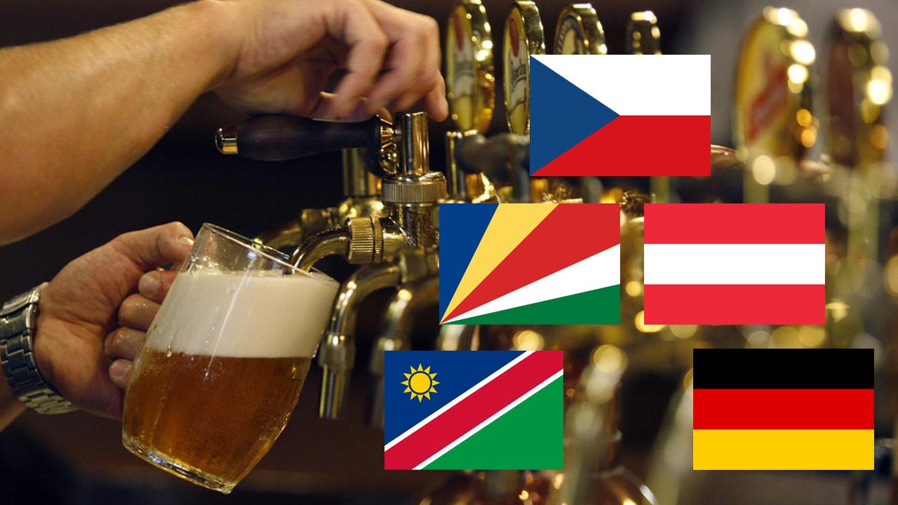 The World's Biggest Beer Drinkers
