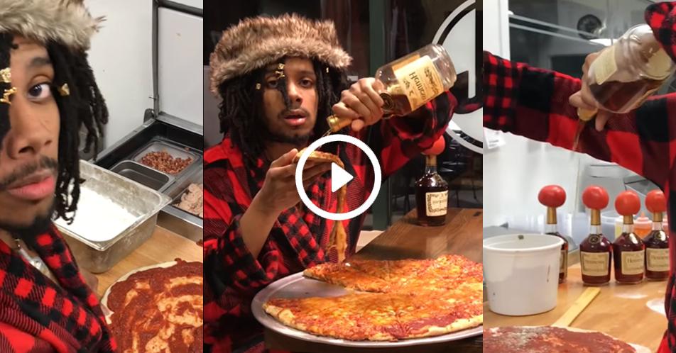 Nilasing na Pizza… We Lit!!!