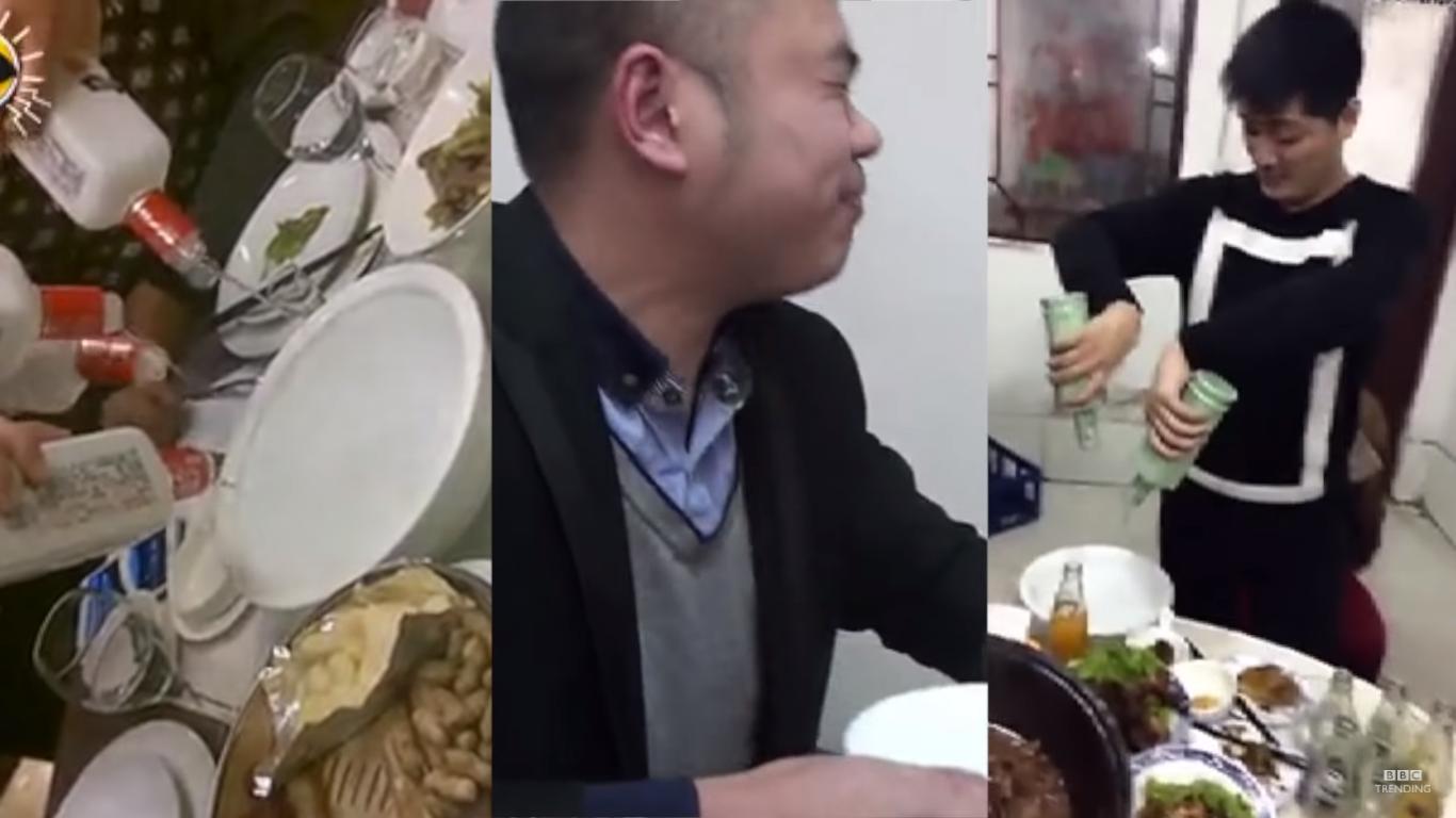 Baijiu Drinking Challenge