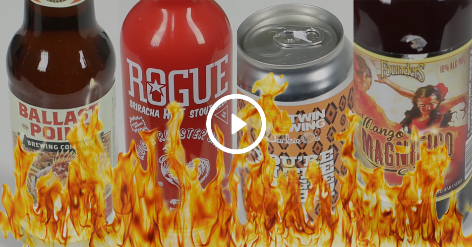 WATCH! Spicy Fanatics, This is the Beer for You