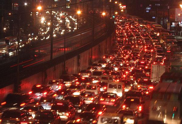 Beer Traffic? Skyway Exit to Warak City