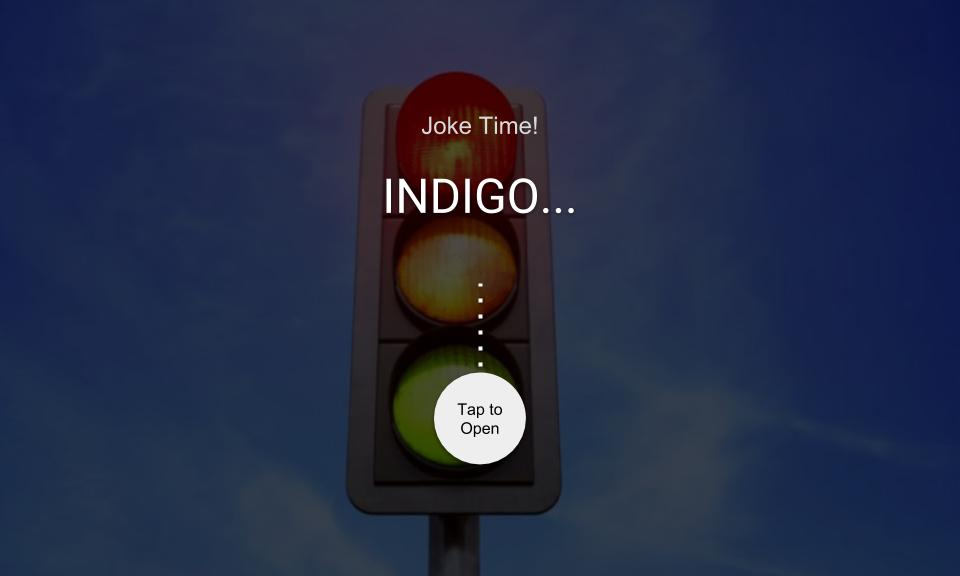 INDIGO…