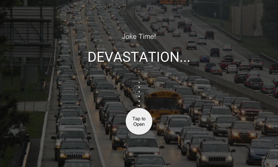 DEVASTATION…