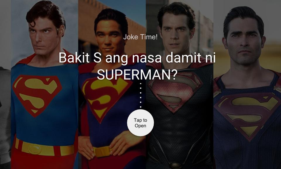 Bakit S ang nakalagay sa damit ni SUPERMAN?
