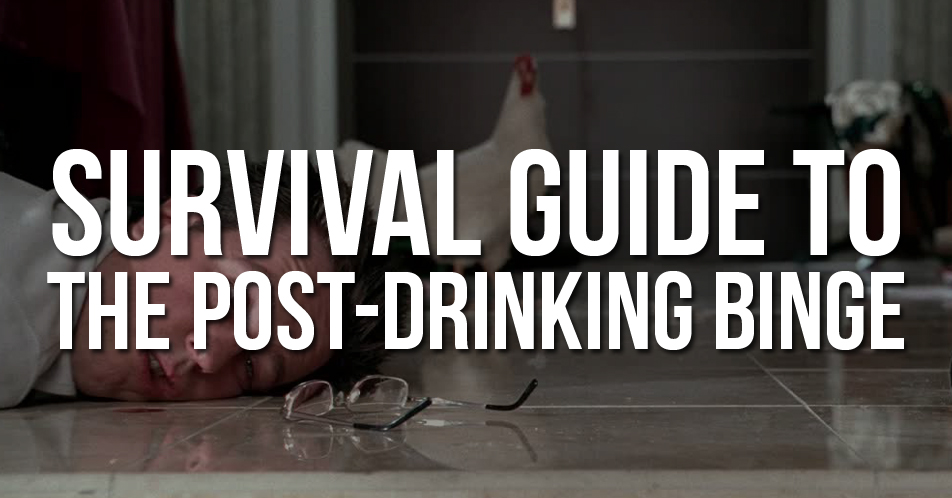 The Aftermath: A Five-Point Survival Guide to the Post-Drinking Binge