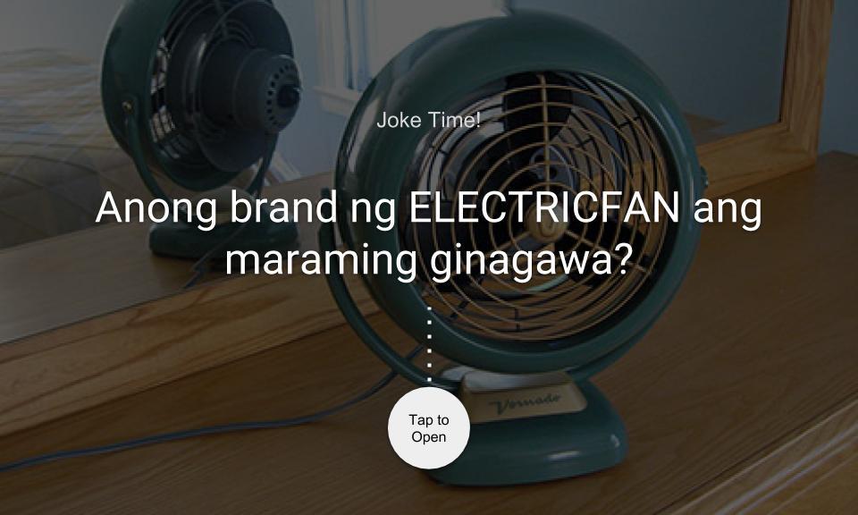 Anong brand ng ELECTRICFAN ang maraming ginagawa?