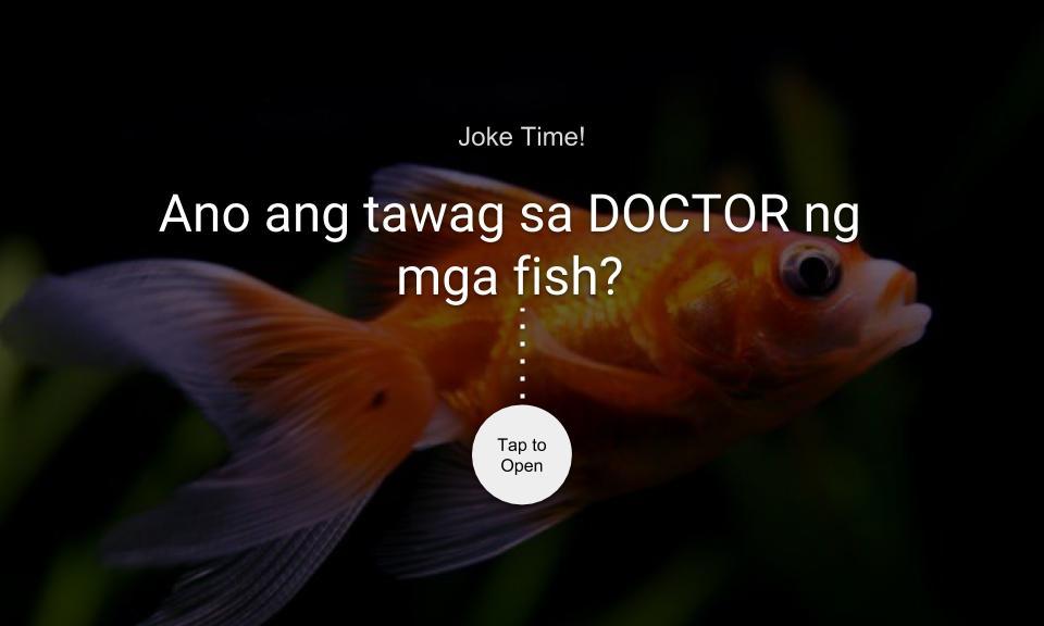 Ano ang tawag sa DOCTOR ng mga fish?