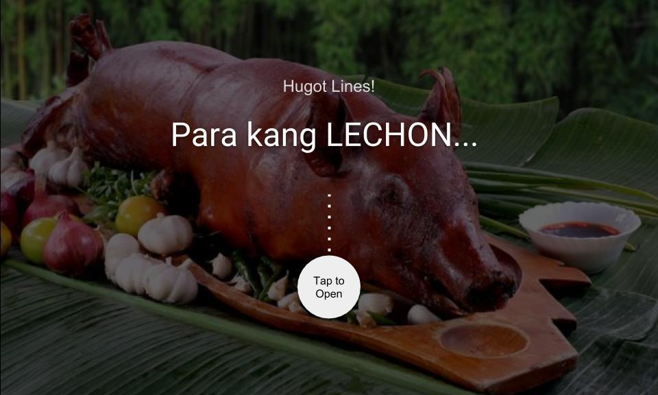Para kang LECHON…