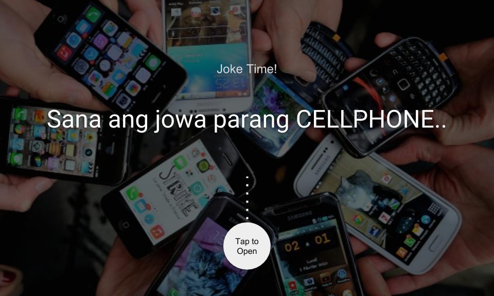 Sana ang jowa parang CELLPHONE..