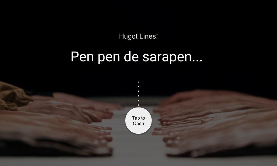 Pen pen de sarapen…
