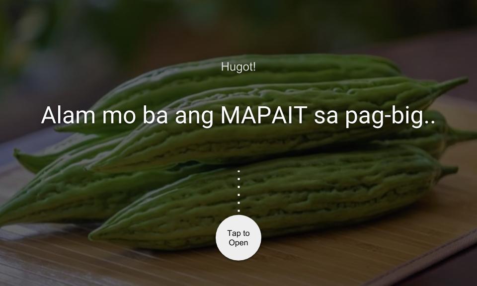 Alam mo ba ang MAPAIT sa pag-ibig?