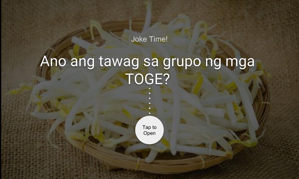 Ano ang tawag sa grupo ng TOGE?