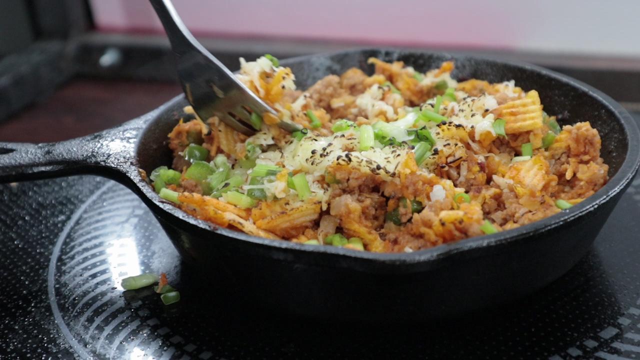Torched Cheesy Ground Beef Calereta Pulutan Recipe