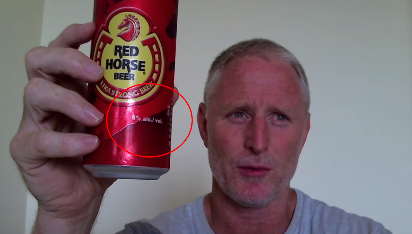 White Dude Meets Red Horse