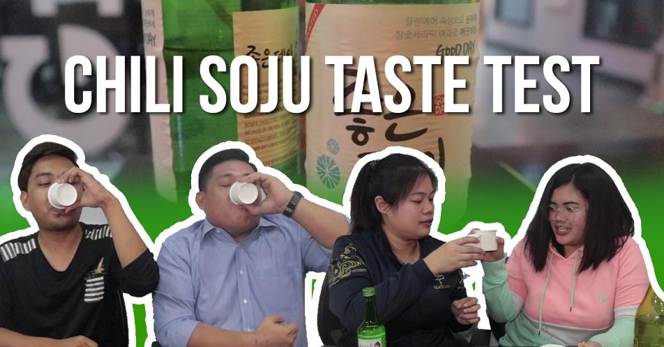 Chili Soju Taste Test: Gumuguhit