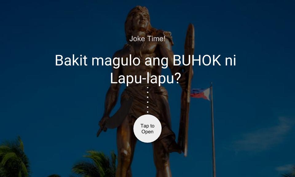 Bakit magulo ang BUHOK ni Lapu-lapu?