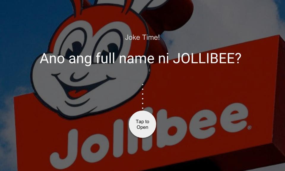 Ano ang full name ni JOLLIBEE?