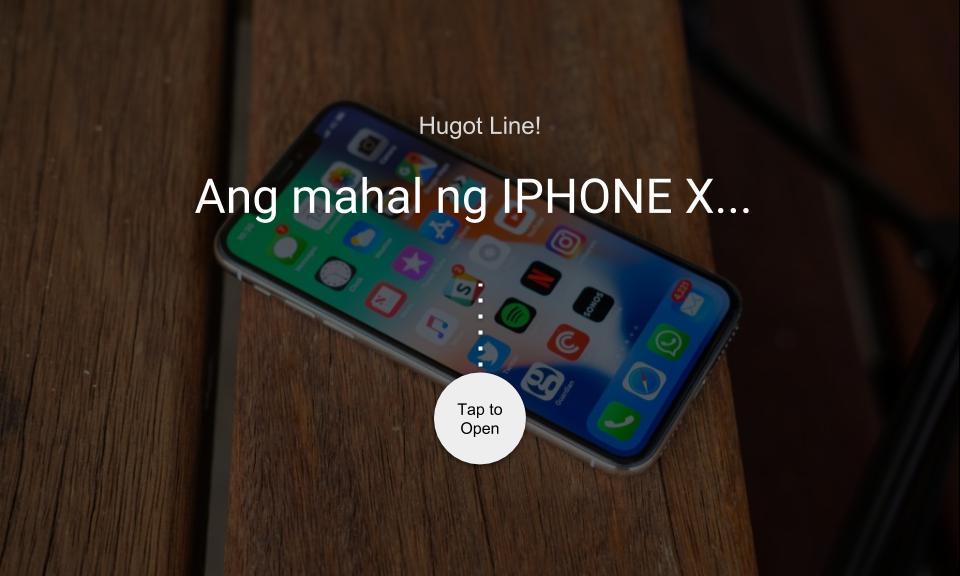 Ang mahal ng IPHONE X…