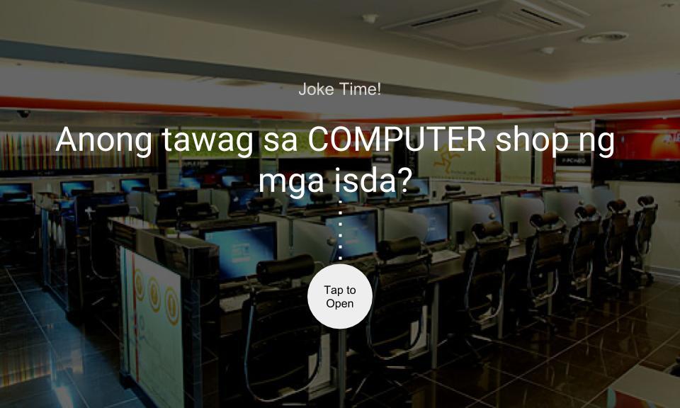 Anong tawag sa COMPUTER shop ng mga isda?