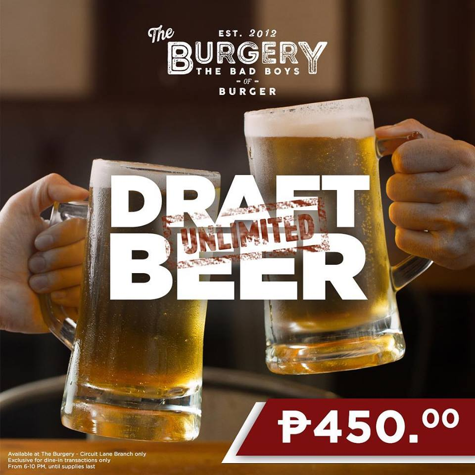 Want some DRAFT BEER UNLIMITED?