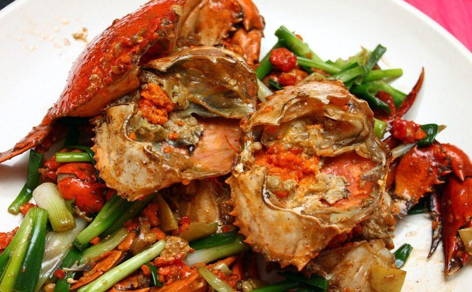 Lemongrass and Ginger Stir Fried Crabs