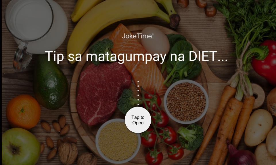 Tip sa matagumpay na DIET…
