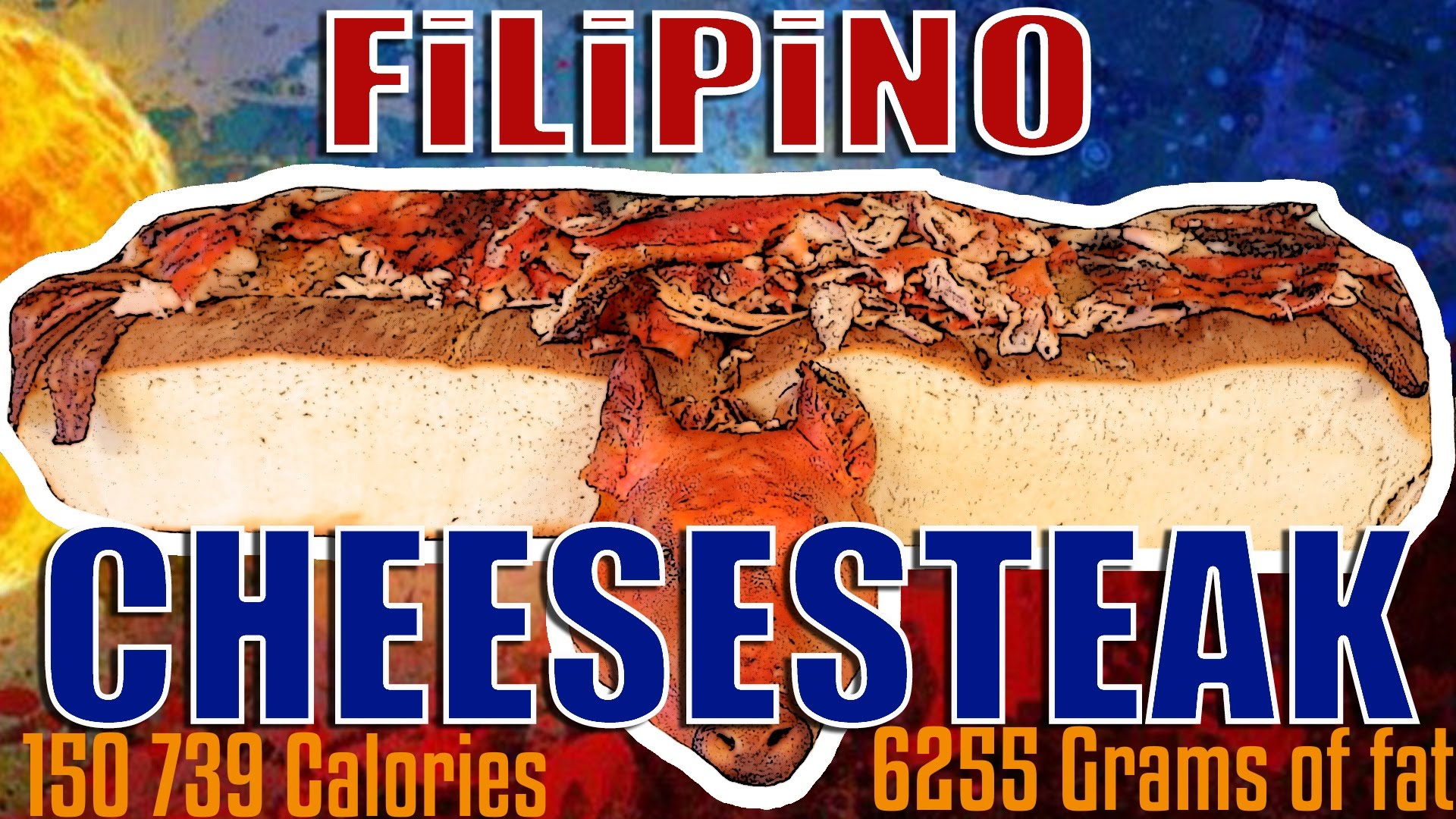 Filipino Cheesesteak – Epic Meal Time