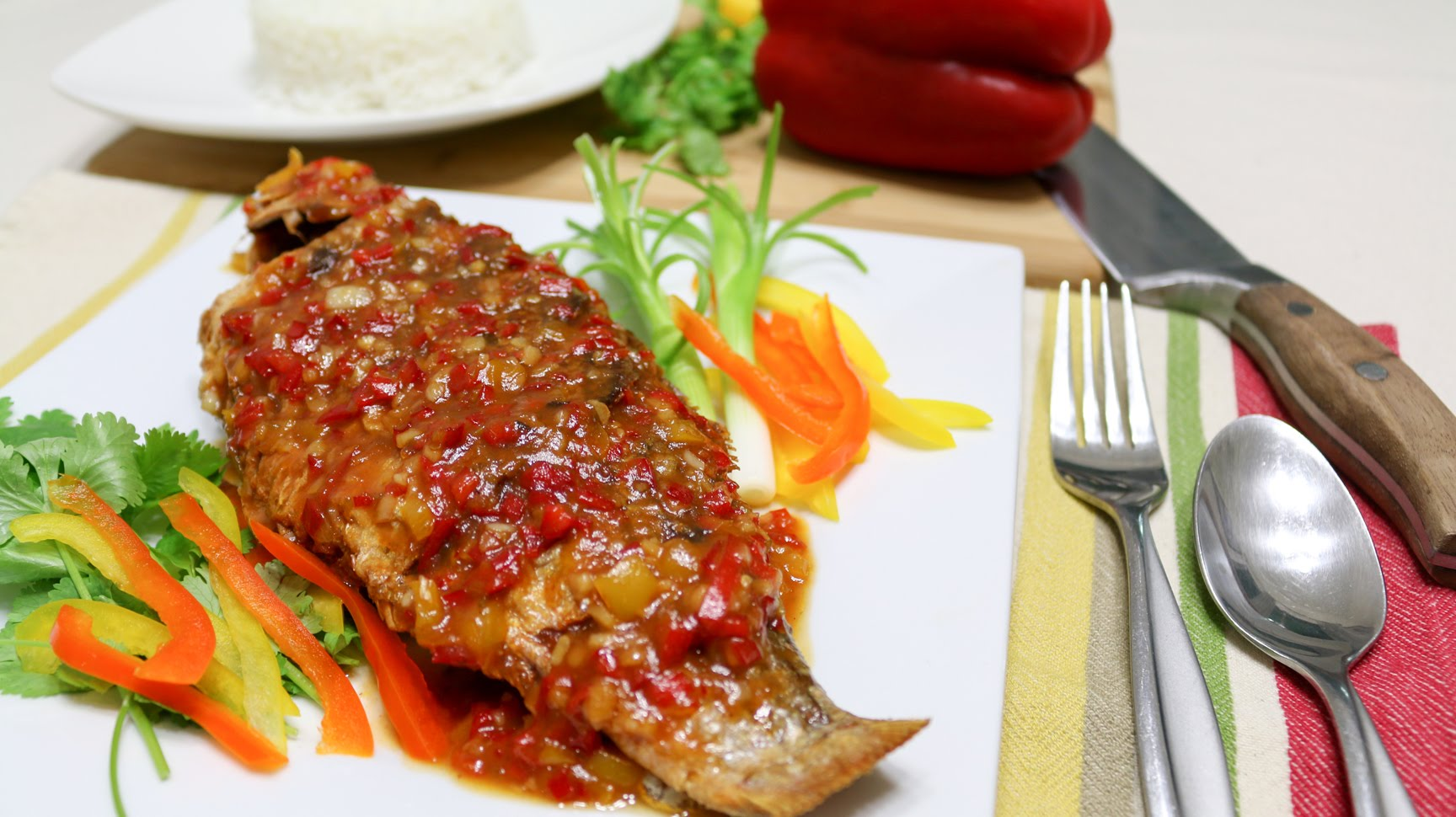 Tilapia: From White to Colorful