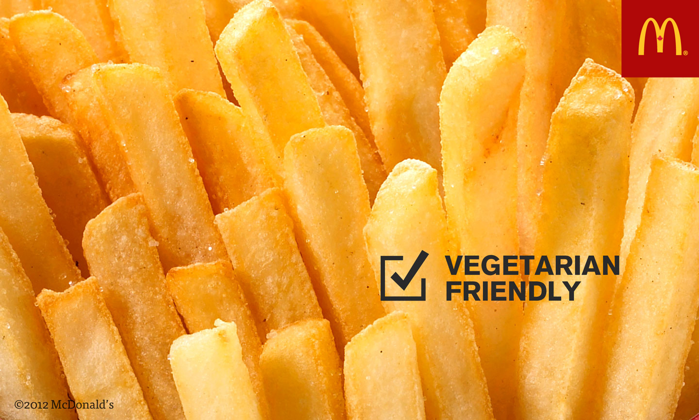 How does McDo make their Tomador Vegetable?