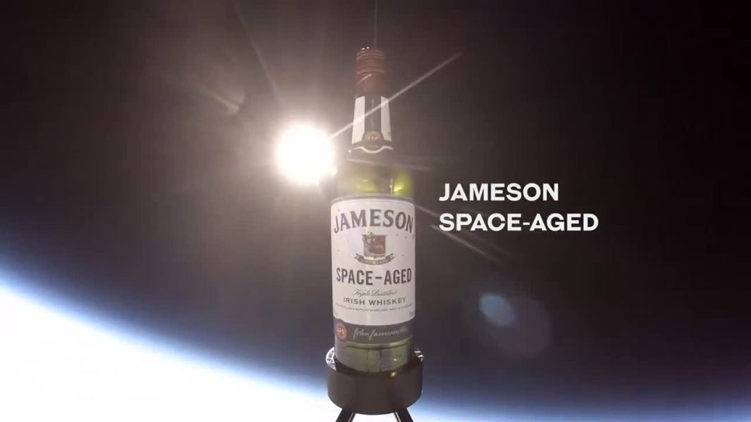 Whiskey Aged in Space…