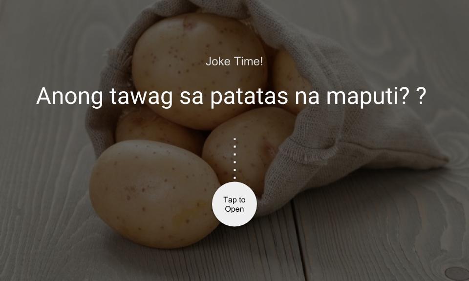 Anong tawag sa patatas na maputi?