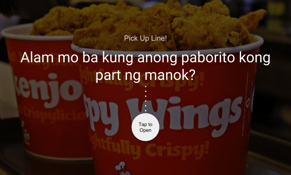 Alam mo ba kung anong paborito kong part ng manok?