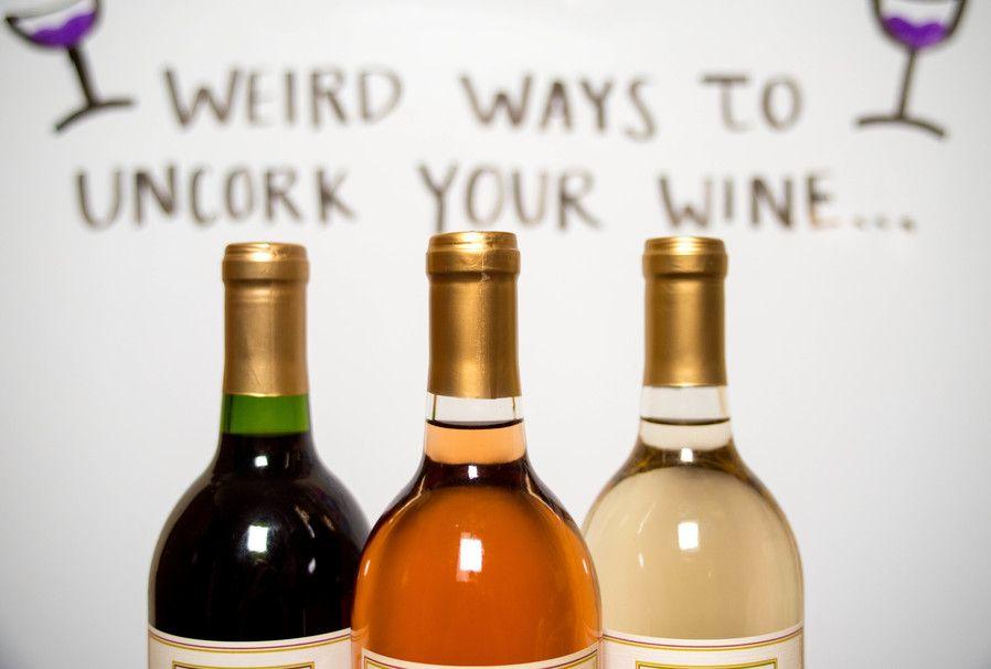 Open Wine Bottle like a HACKER