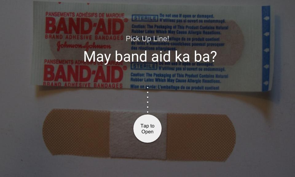 May band aid ka ba?