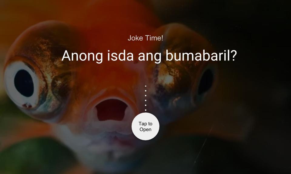 Anong isda ang bumabaril?
