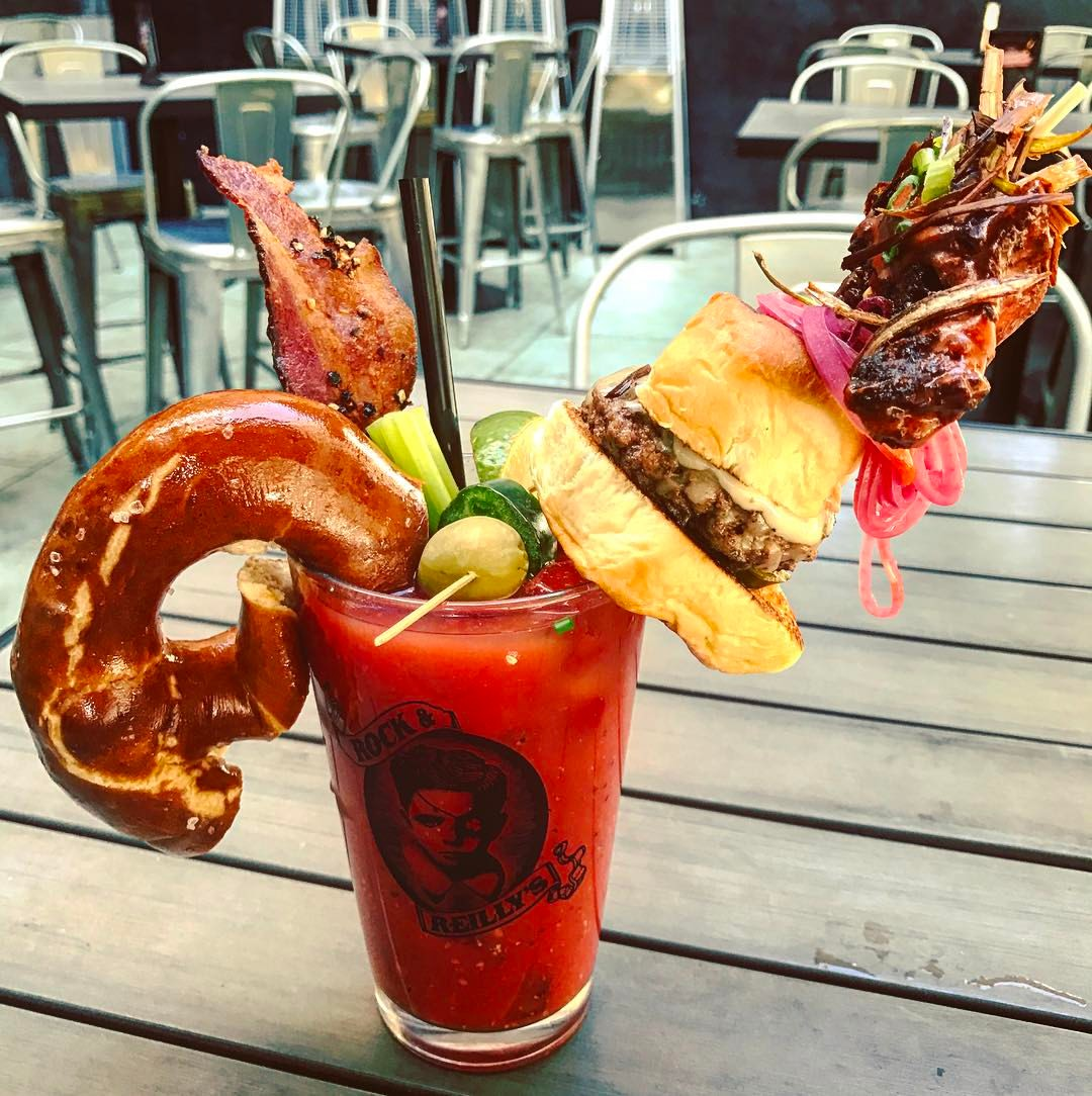 The Key to Day Drinking… Bloody Mary's