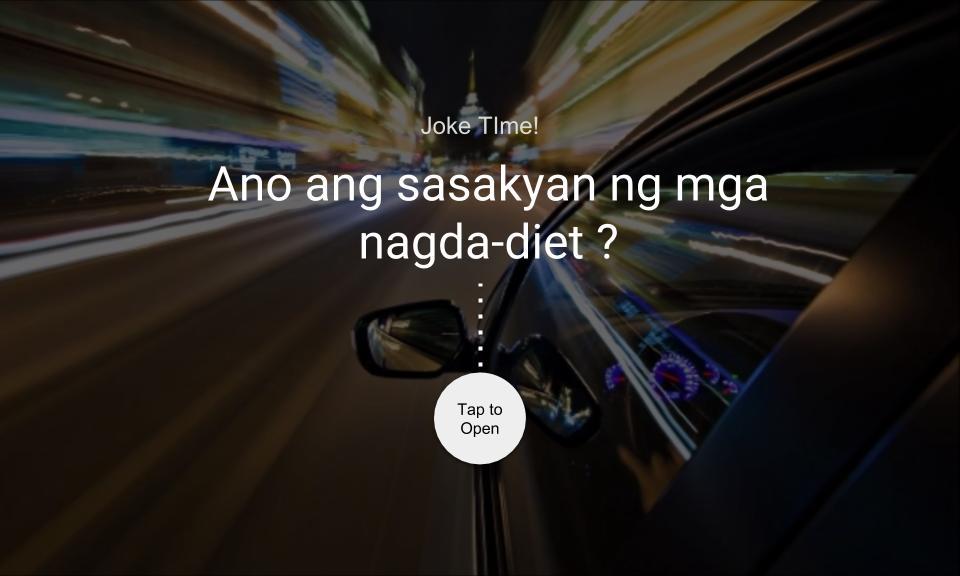 Ano ang sasakyan ng mga nagda-diet?
