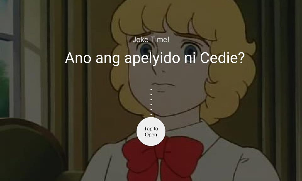 Ano ang apelyido ni Cedie?
