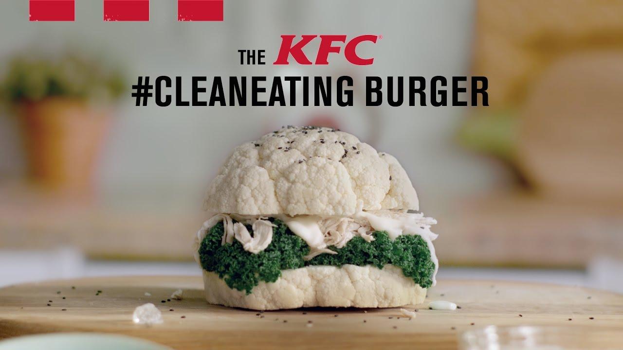 KFC's Clean Healthy Burger