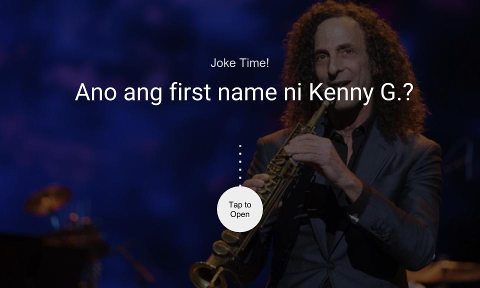 Ano ang first name ni Kenny G.?