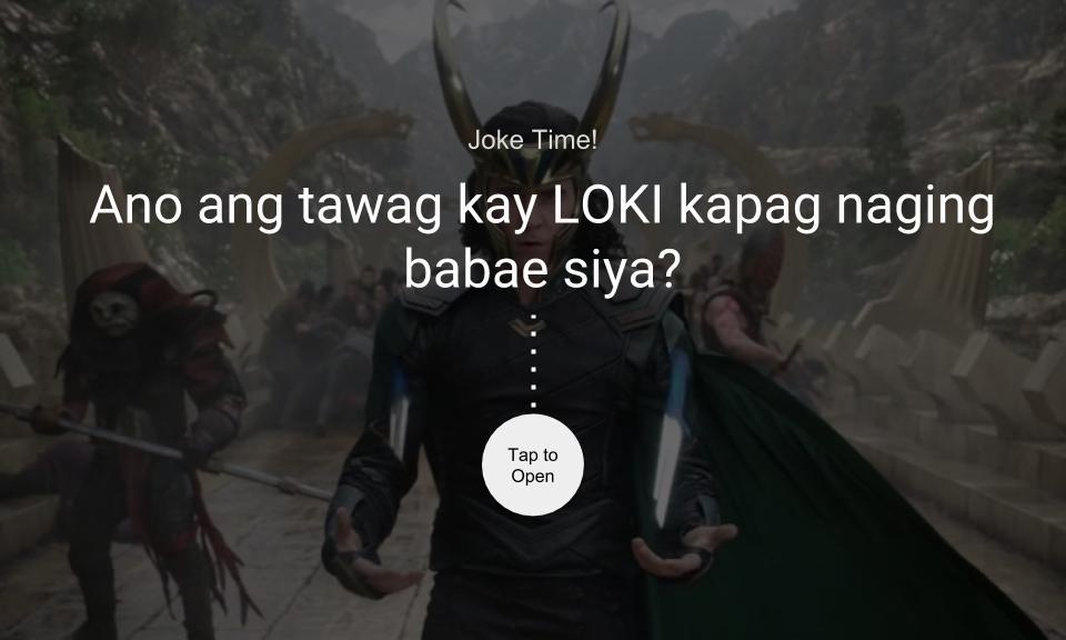 Ano ang tawag kay LOKI kapag naging babae siya?