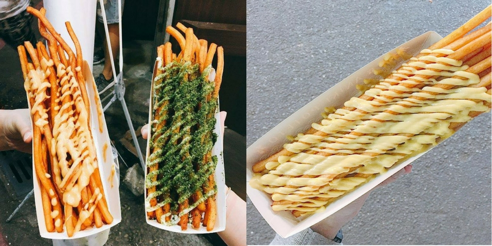 This is NOT your Ordinary Fries