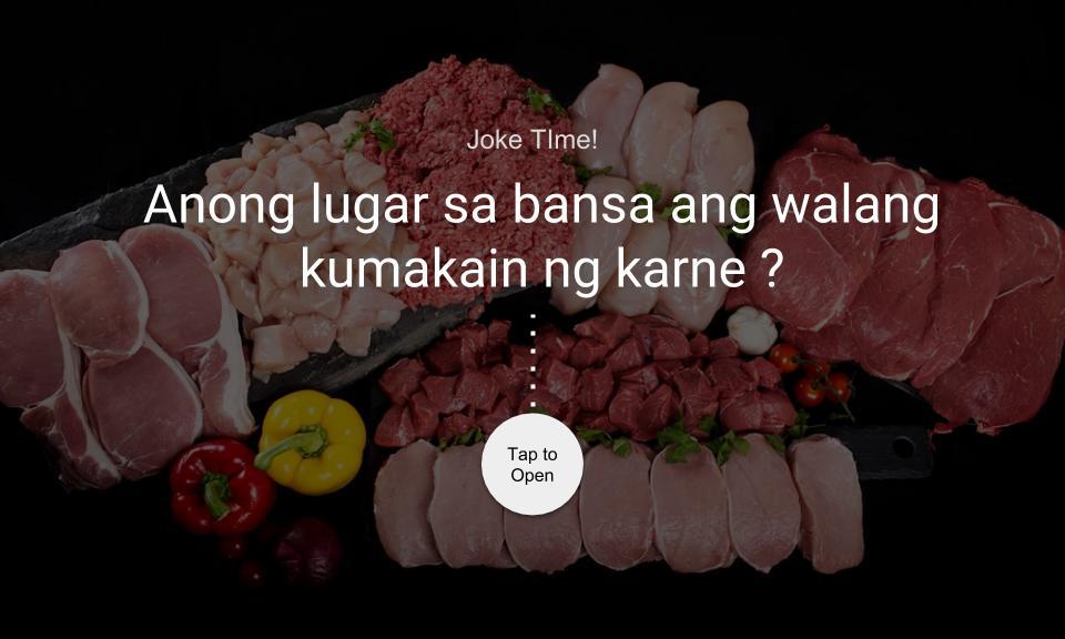 Anong lugar sa bansa ang walang kumakain ng karne?