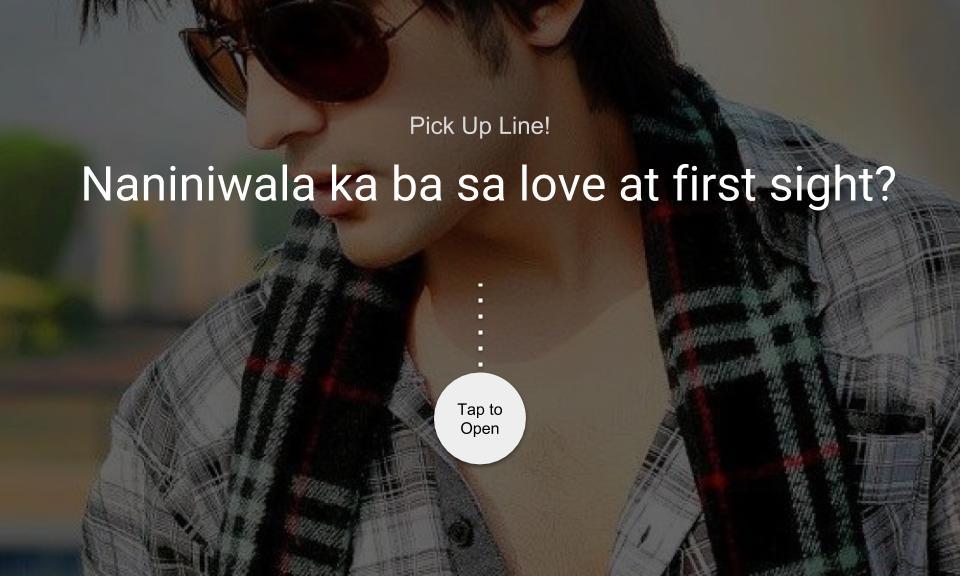 Naniniwala ka ba sa love at first sight?
