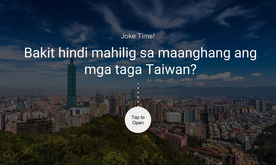 Bakit hindi mahilig sa maanghang ang mga taga Taiwan?